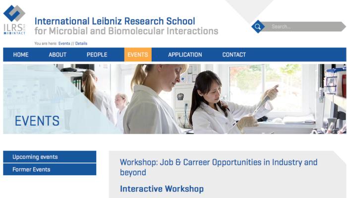 Screenshot ILRS Workshop