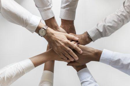 LSB Coaching: Photo von Mitarbeitern, die als Team erfolgreich sind